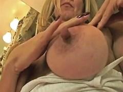 Mature Blonde With Big Nipples Porn Videos